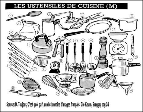 liste d ustensiles de cuisine ustensiles de cuisine liste ustensile cuisine liste sur