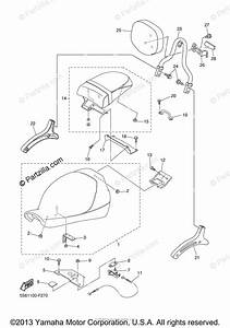 Yamaha Motorcycle 2007 Oem Parts Diagram For Seat