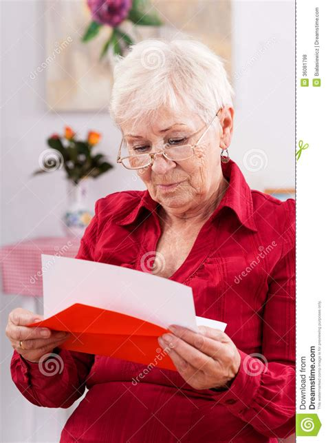 grandmas birthday card royalty  stock  image