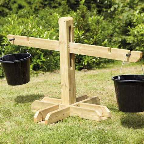 outside wooden bench buy wooden outdoor scales and buckets tts