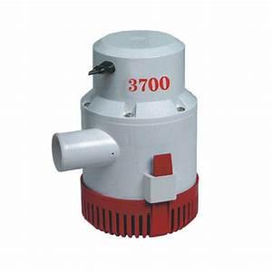 3700 Gph Bilge Pump - 12v    24v - Dc