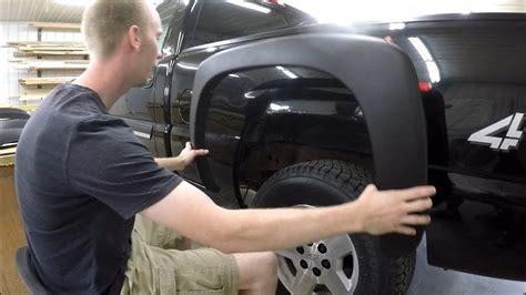 rust fender silverado fix project