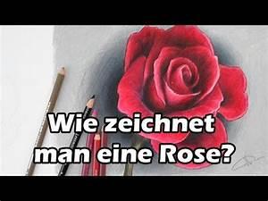 Wie Streicht Man Eine Decke : wie zeichnet man eine rose zeichnen lernen tutorial deutsch zeichnen lernen ~ Buech-reservation.com Haus und Dekorationen