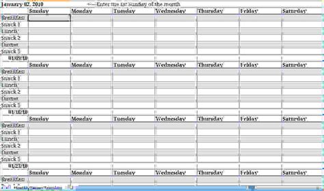 weekly planner excel template documents  pdfs