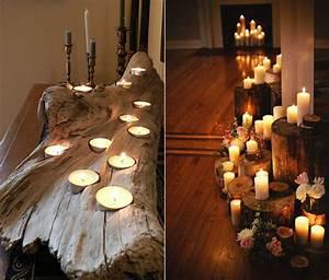 Dekoschale Mit Kerzen : kerzen dekoideen f r mehr romantik in den kalten ~ Sanjose-hotels-ca.com Haus und Dekorationen