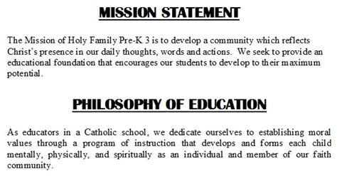 mission statement holy family preschool 3 early 520 | 2965386 orig