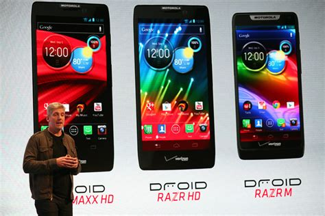 newest motorola phone new motorola razr phones boast bigger screens better