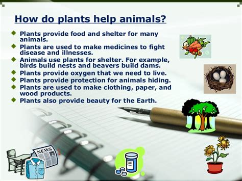 how do animals help habitats for plants and animals