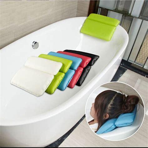 bathtub pillow ideas  pinterest spa baths bath table  bathroom gadgets