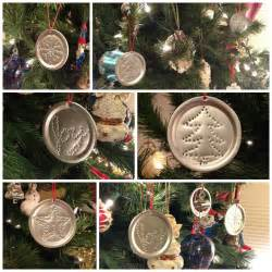 quot punched tin quot ornaments from recycled canning jar lids frugal upstate