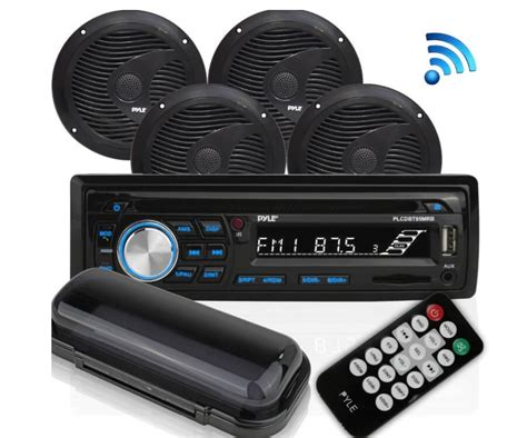 Pyle Boat Stereo Reviews pyle marine audio stereo kit review best marine stereo