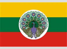 Myanmar Burma former flags