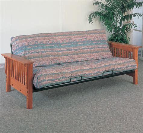 mission futon coaster futons casual futon frame and mattress with