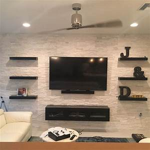25+ best ideas about Floating entertainment center on