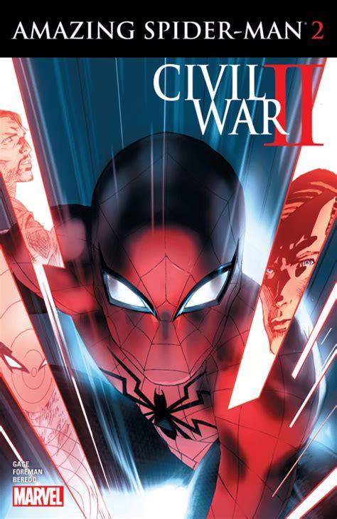 civil war ii amazing spider man  review retrozap