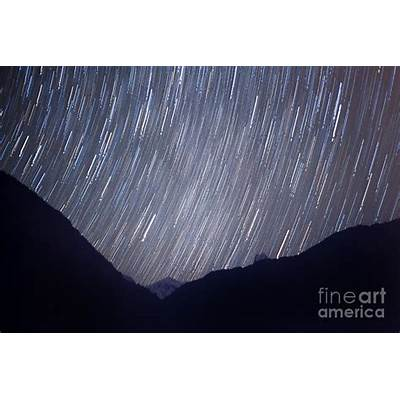 Startrail Himalaya Night Scape Photograph by Raimond Klavins