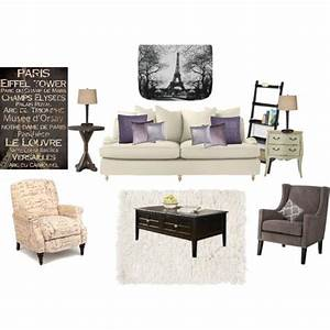 Living room paris theme by neshira millender on for Paris themed living room decor