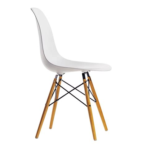 eames plastic side chair dsw connox