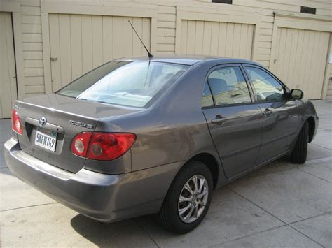 The toyota corolla (e120/e130) is the ninth generation of compact cars sold by toyota under the corolla nameplate. 2005 Toyota Corolla - Pictures - CarGurus