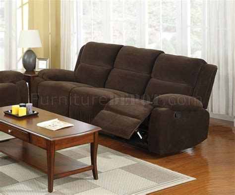 brown fabric recliner sofa haven reclining sofa cm6554 in dark brown fabric w options