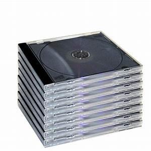 10 4mm Standard Single Black Tray Assembled Cd Case