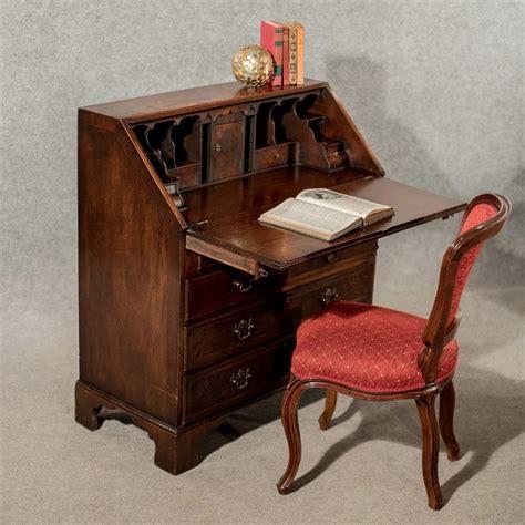Antique Bureau Writing Desk Mahogany Edwardian English