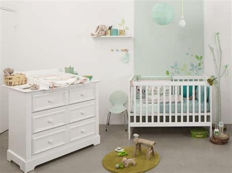amenagement chambre bebe aménagement déco chambre bébé blanc