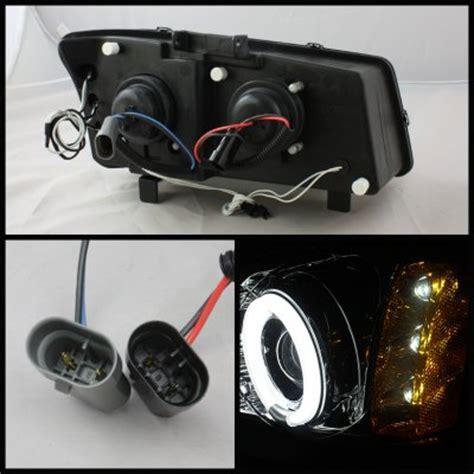 2004 chevy silverado halo lights chevy silverado 2500 2003 2004 smoked ccfl halo projector