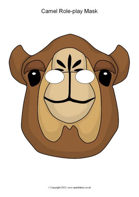 camel role play masks sb sparklebox