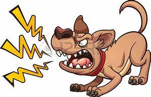 Angry Dog Clipart - ClipartXtras