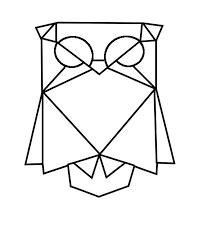 formas creativas hechas con figuras geometricas basicas