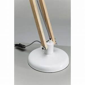 Kare Design Lampe : lampe de table blanche work station kare design ~ Orissabook.com Haus und Dekorationen