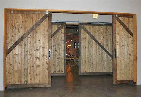 10 X 10 Non-warping Large Wood Sliding Barn Doors