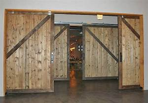 10 x 10 non warping large wood sliding barn doors With barn door wood type