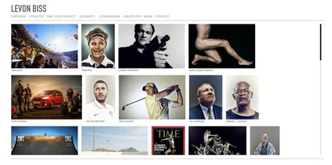 great photographer portfolio websites  inspiration