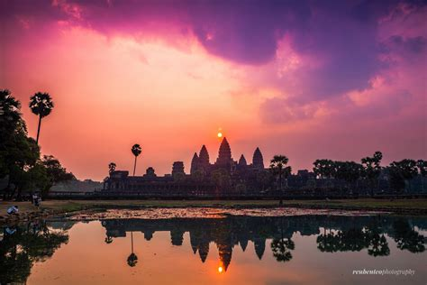 Sunrise At Angkor Wat Reuben Teo Photography Designer