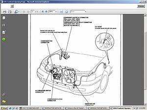 Where Is The Ac Diode Located On A 1995 Honda Accord With