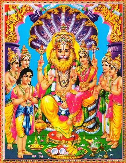 Narasimha God Wallpapers Hindu Lord Lakshmi Gods