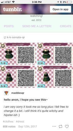acnl qr code dress acnlclothes jogos anime
