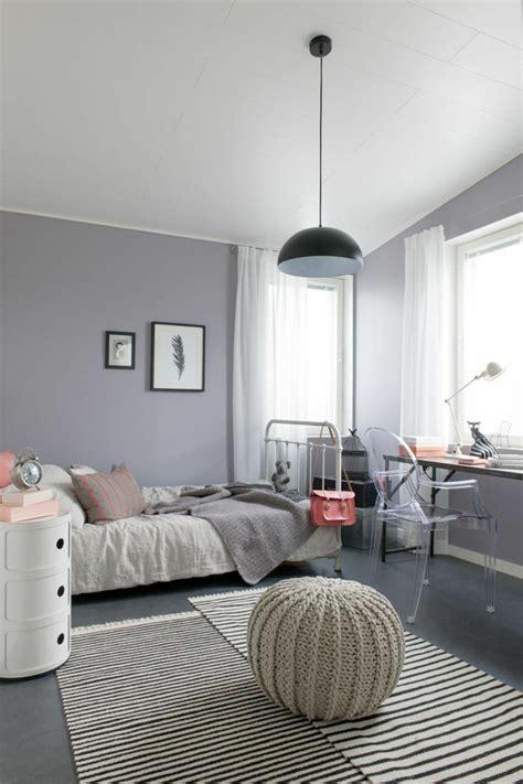 pouf chambre fille la chambre ado fille 75 idées de décoration archzine fr