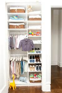 Organized Baby Closet by 9 Storage Ideas For Small Closets Contemporist