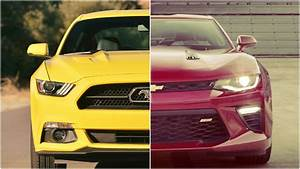 2016 Chevy Camaro vs. 2016 Ford Mustang Specs Comparison, Release Date, Specs, and Prices