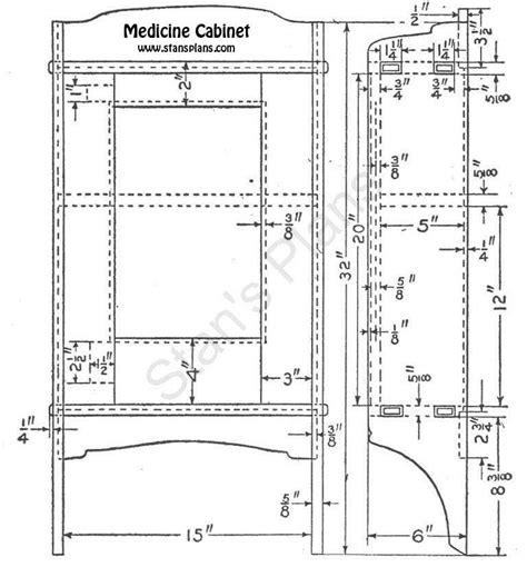 medicine cabinets plans  mirrored medicine cabinet