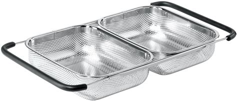 over the sink strainer oggi over the sink expandable strainer 5626