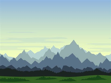 parallax backgroud set game backgrounds