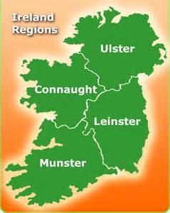 Ireland Region Map