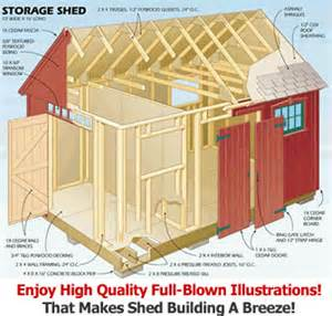 shed building supply list shed plan easy