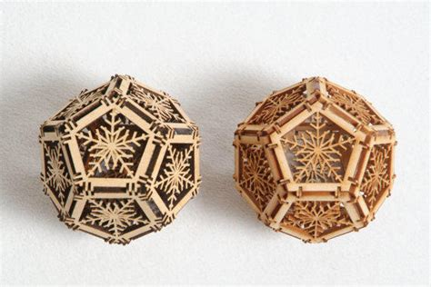 Decorative Orbs Wood Metal Ball Rustic Home Decor Spheres: Two Wood Orbs, Home Decor, Geometric From