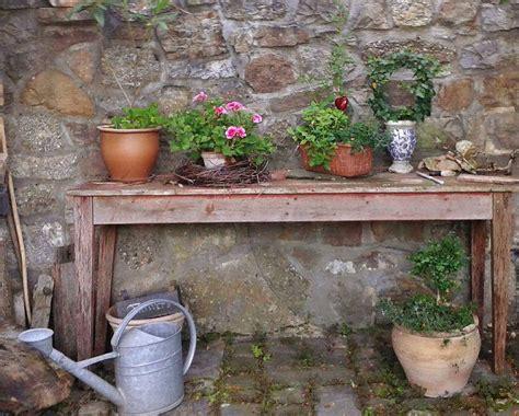 le jardin vintage exemple avec un plan