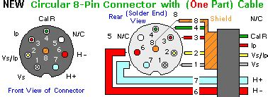 8 Pin Connector Wiring Diagram lsu connectors and wiring